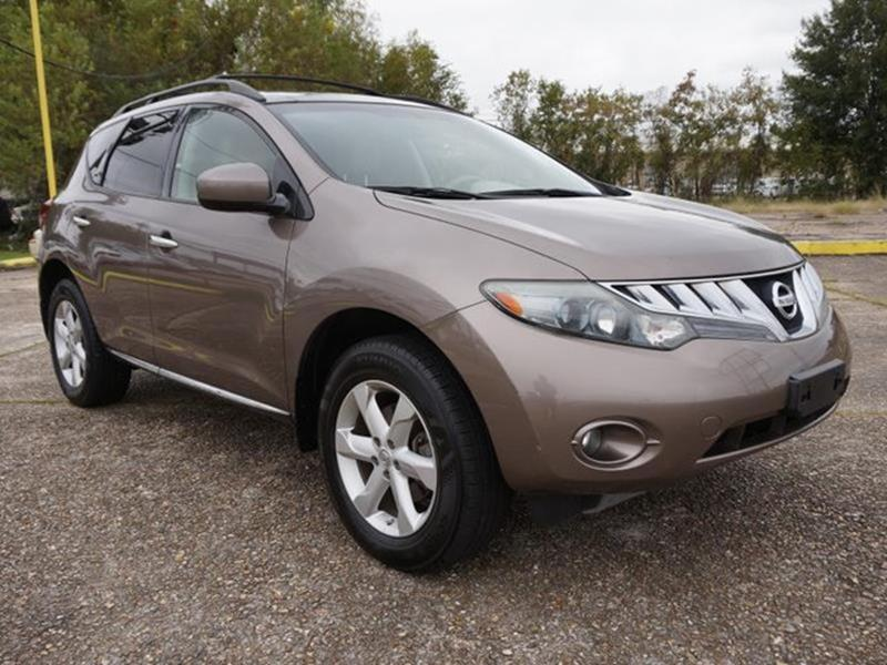 2009 NISSAN MURANO SL AWD 4DR SUV tinted bronze metallic power tiltsliding sunroofleather seats