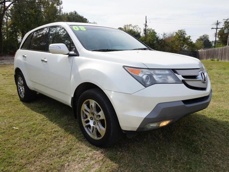 2008 ACURA MDX SH AWD WTECH 4DR SUV WTECHNOLO aspen white pearl 3rd row seatpower tiltsliding