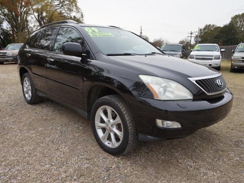 2009 LEXUS RX 350 BASE AWD 4DR SUV obsidian black cargo shadepower liftgaterear spoilerfront r