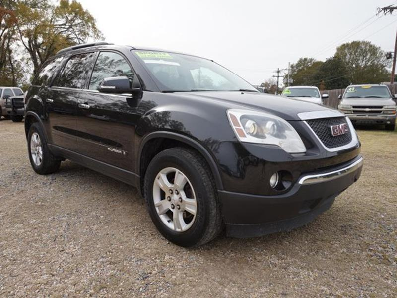 2008 GMC ACADIA SLT 1 4DR SUV carbon black metallic power door locksentertainment systempower l