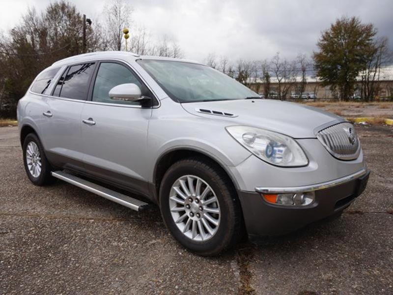 2011 BUICK ENCLAVE CXL 1 AWD 4DR CROSSOVER W1XL quicksilver metallic running boardsside stepss