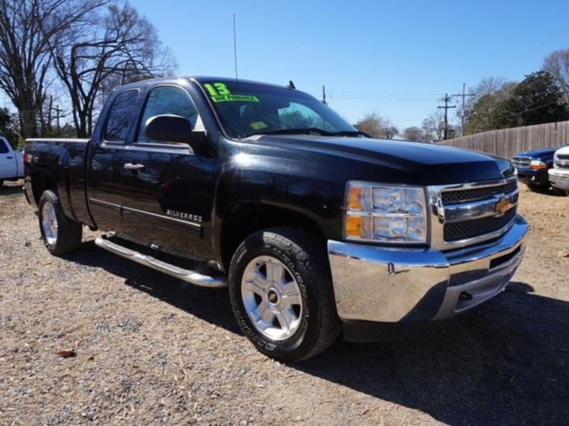 2013 CHEVROLET SILVERADO 1500 LT 4X4 4DR EXTENDED CAB 65 FT black climate controlrunning board