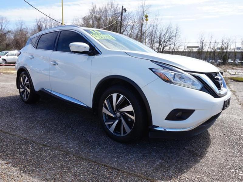 2015 NISSAN MURANO PLATINUM 2WD pearl white panoramic roofdriver air bagfront side air bagclim