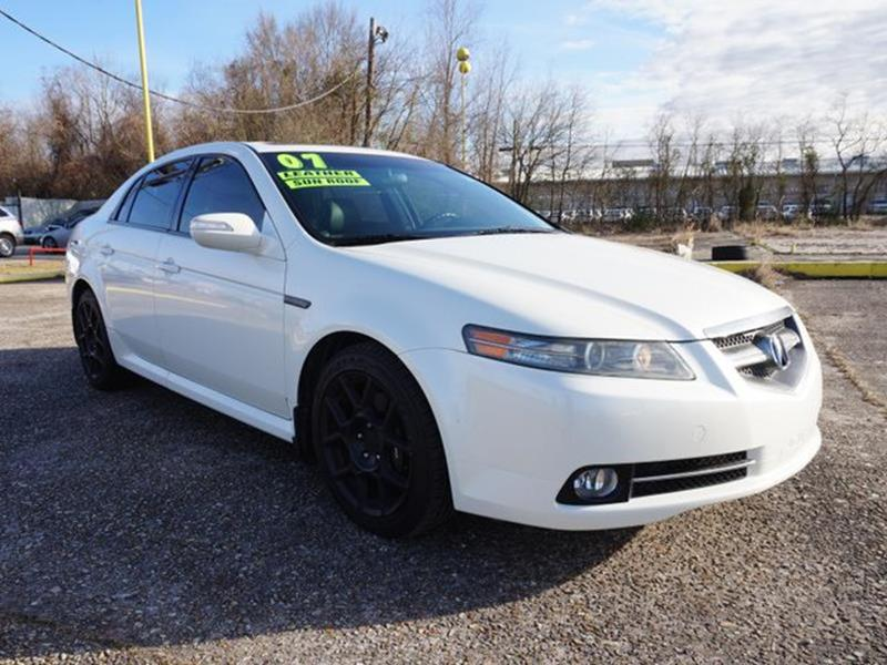2007 ACURA TL TYPE S 4DR SEDAN 5A white diamond pearl heated exterior driver mirrorfog lampsint