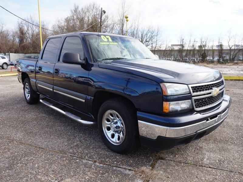 2007 CHEVROLET SILVERADO 1500 CLASSIC 1500 CLASSIC 2WD 1435 LS dark blue metallic running boards