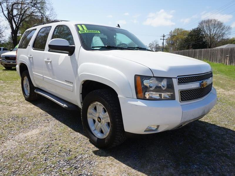 2011 CHEVROLET TAHOE LT 4X4 4DR SUV summit white tires - front all-seasonadjustable steering whe