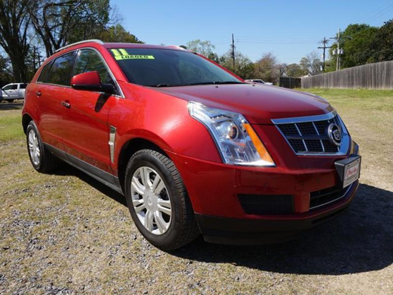 2011 CADILLAC SRX LUXURY COLLECTION AWD 4DR SUV crystal red driver air bagfront head air bagam