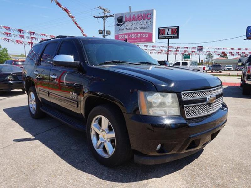 2011 CHEVROLET TAHOE LT 4X2 4DR SUV black heated exterior driver mirrorprivacy glassrear parkin