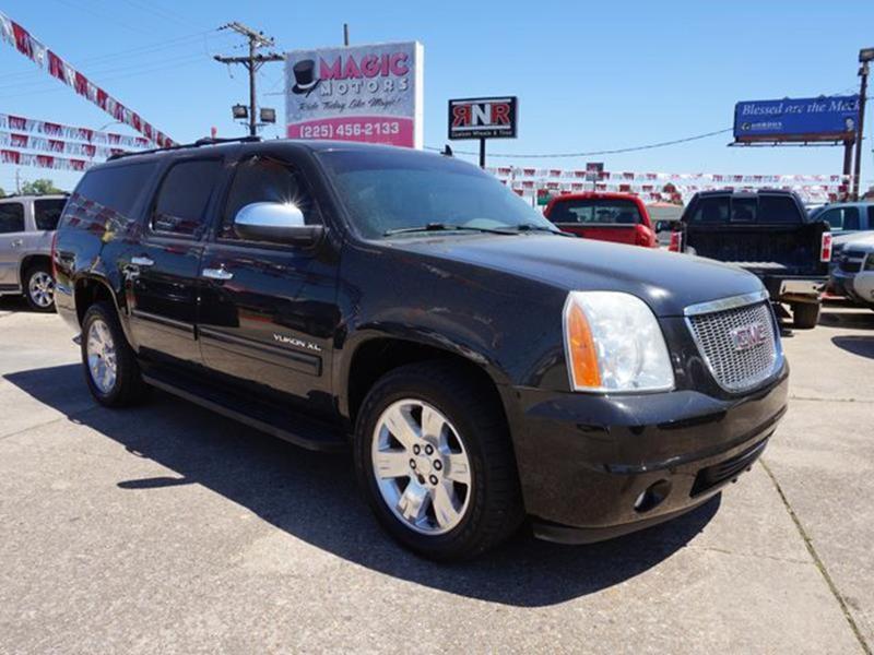 2012 GMC YUKON XL SLT 1500 4X2 4DR SUV carbon black metallic heated passenger seatheated rear se