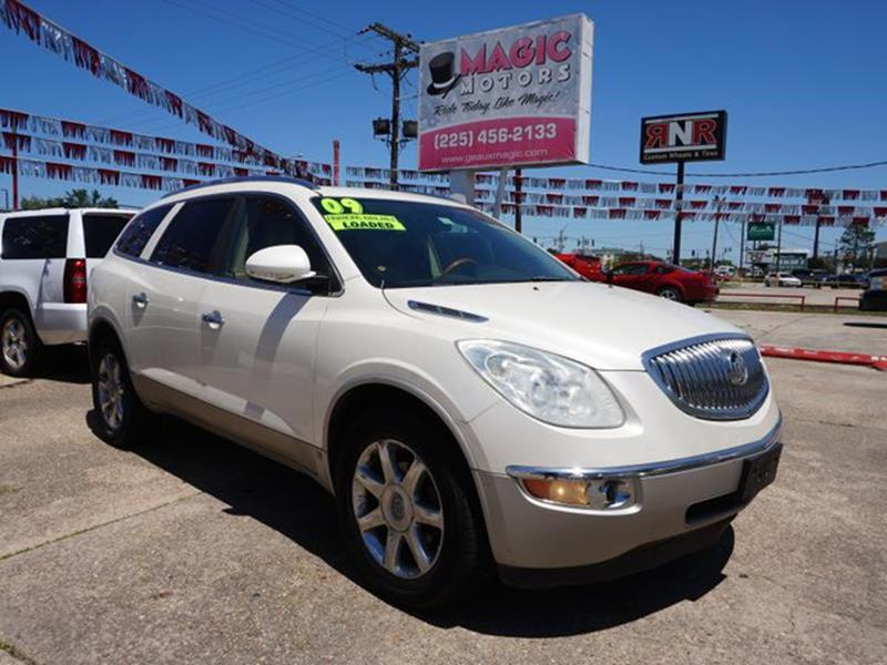 2009 BUICK ENCLAVE CXL 4DR CROSSOVER white diamond tire pressure monitorremote trunk releasepas