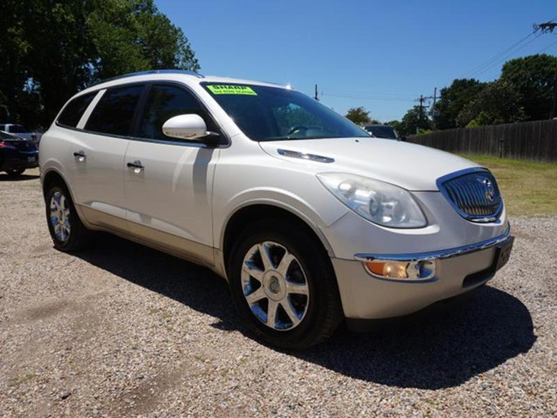 2008 BUICK ENCLAVE CXL 4DR CROSSOVER white diamond rear spoilerseat memorypassenger adjustable