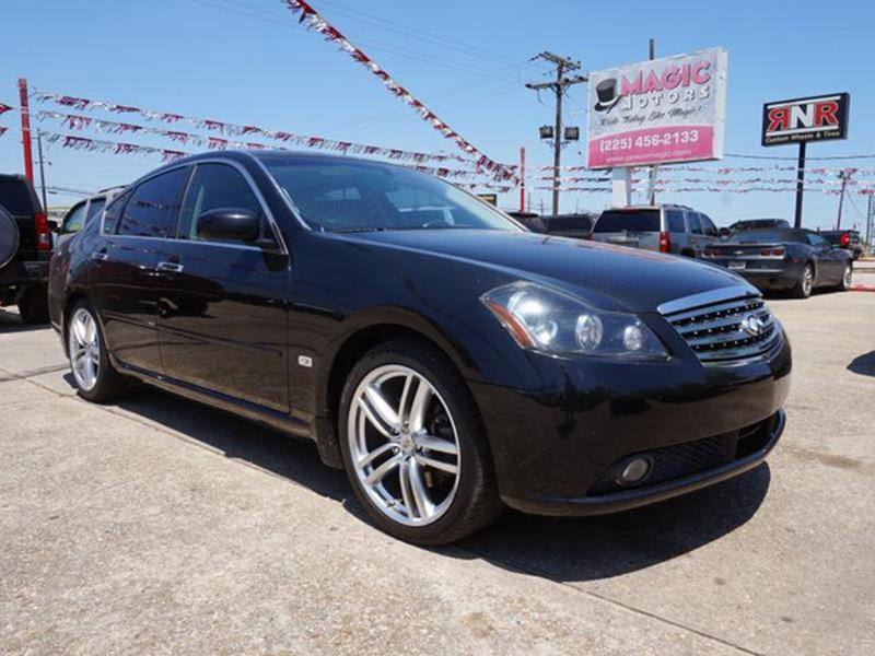 2006 INFINITI M35 SPORT 4DR SEDAN black obsidian power steeringpower passenger seatpower driver