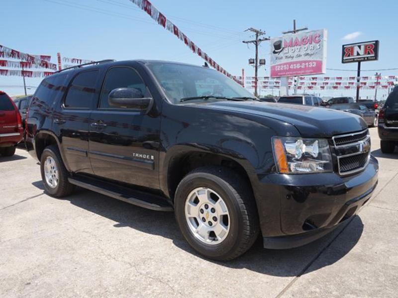 2008 CHEVROLET TAHOE LT 2WD black auxiliary audio inputstability controltelematicsuniversal ga
