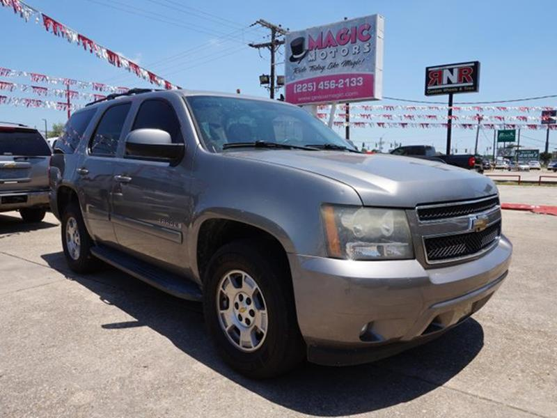 2008 CHEVROLET TAHOE LT 2WD gray stone metallic tires - front all-seasonconventional spare tire