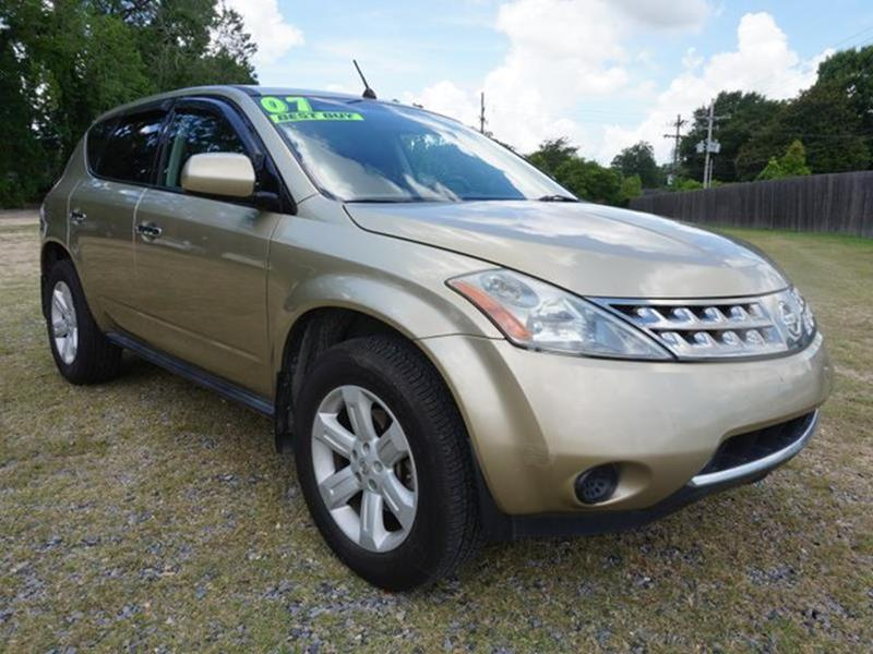 2007 NISSAN MURANO S 2WD chardonnay pearly metallic vehicle anti-theft systempower windowsalumi
