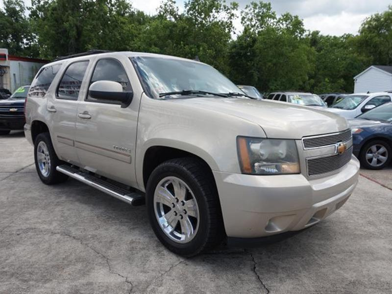 2007 CHEVROLET TAHOE LT 2WD gold mist metallic stability controltelematicstransmission overdriv