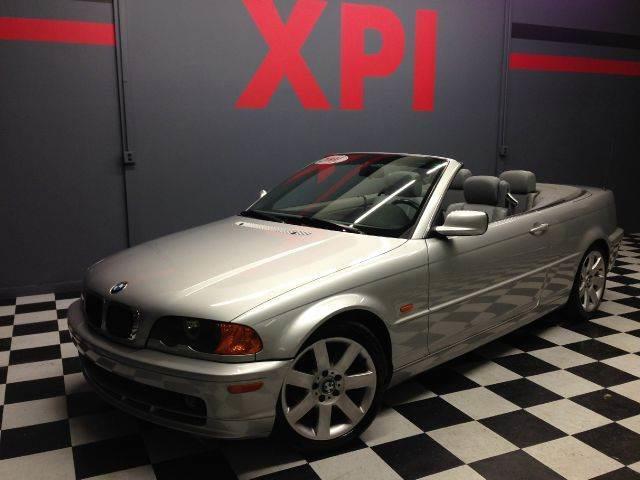 2001 BMW 3 Series 325Ci 2dr Convertible