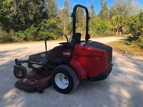 2012 Toro Groundsmaster 7200 for sale in Lake Placid, FL