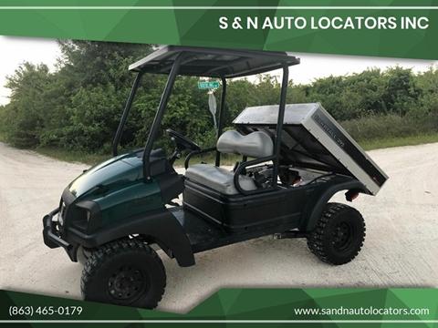 2013 Club Car Carryall 295 Diesel 4X4 for sale in Lake Placid, FL
