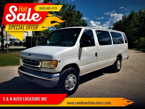 2002 Ford E-Series Wagon for sale in Lake Placid, FL