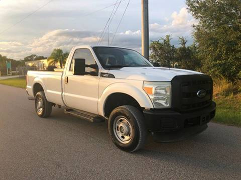 2011 Ford F-250 Super Duty for sale in Lake Placid, FL