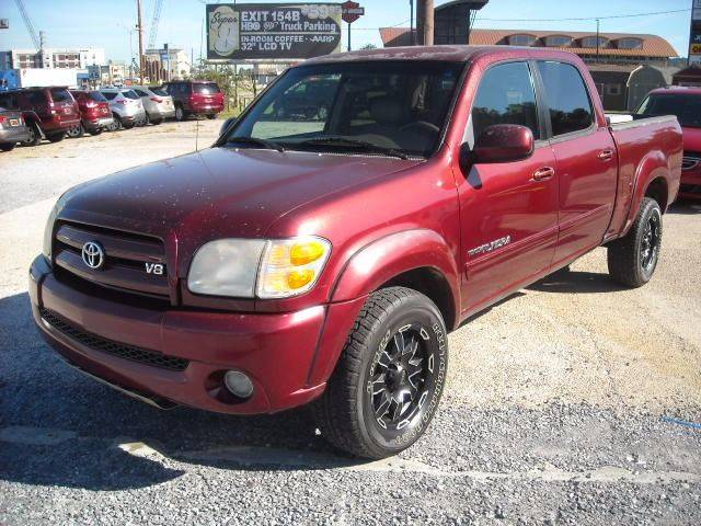 2004 toyota tundra 4dr double cab limited 4wd sb v8 in meridian ms interstate auto llc www. Black Bedroom Furniture Sets. Home Design Ideas