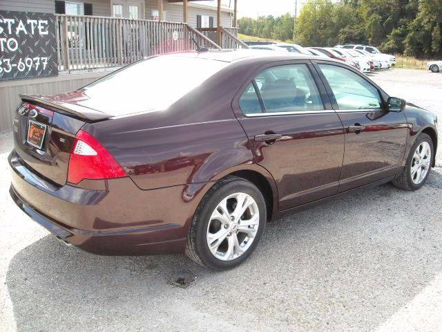 2012 Ford Fusion SE 4dr Sedan - Meridian MS