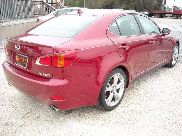 2010 Lexus IS 250 4dr Sedan 6A - Meridian MS