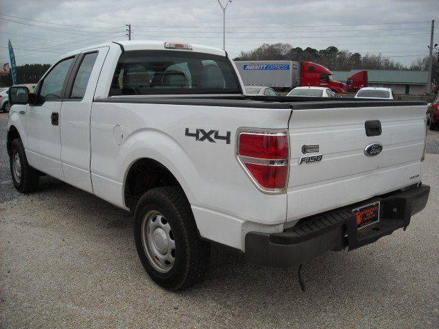 2011 Ford F-150 4x4 XL 4dr SuperCab Styleside 6.5 ft. SB - Meridian MS