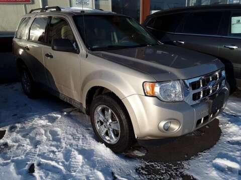 2012 Ford Escape XLT for sale at Hartleys Auto & RV Center in Cortland NY