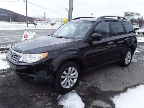 2013 Subaru Forester 2.5X Limited for sale at Hartleys Auto & RV Center in Cortland NY