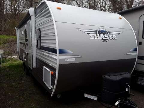 2020 Shasta Shasta for sale at Hartleys Auto & RV Center in Cortland NY