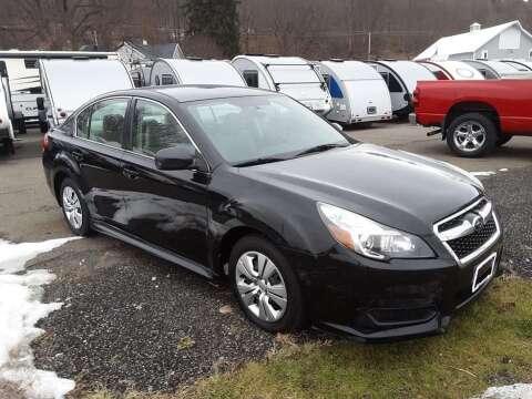 2014 Subaru Legacy 2.5i for sale at Hartleys Auto & RV Center in Cortland NY