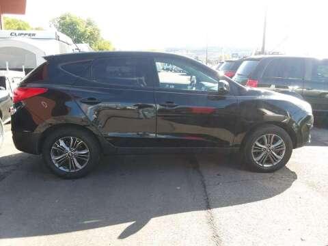 2015 Hyundai Tucson GLS for sale at Hartleys Auto & RV Center in Cortland NY