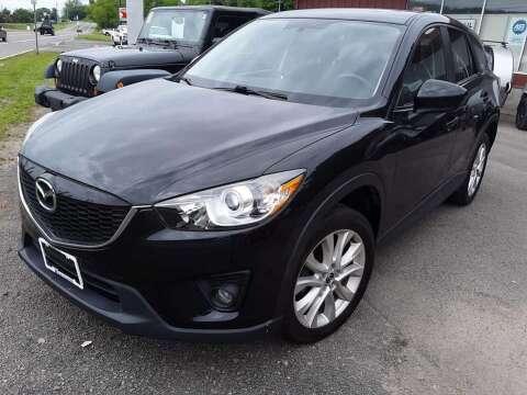 2014 Mazda CX-5 Grand Touring for sale at Hartleys Auto & RV Center in Cortland NY