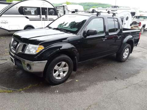 2010 Nissan Frontier for sale at Hartleys Auto & RV Center in Cortland NY