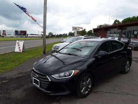 2018 Hyundai Elantra for sale at Hartleys Auto & RV Center in Cortland NY