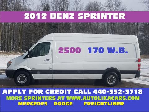 2012 Mercedes-Benz Sprinter Cargo for sale in North Royalton, OH