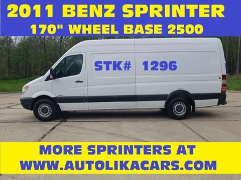 2011 Mercedes-Benz Sprinter Cargo for sale in North Royalton, OH