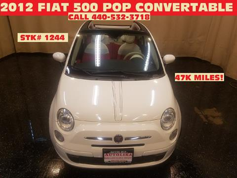 2012 FIAT 500c for sale in North Royalton, OH