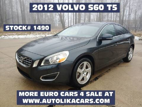 2012 Volvo S60 T5 for sale at Autolika Cars LLC in North Royalton OH