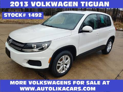 2013 Volkswagen Tiguan for sale at Autolika Cars LLC in North Royalton OH