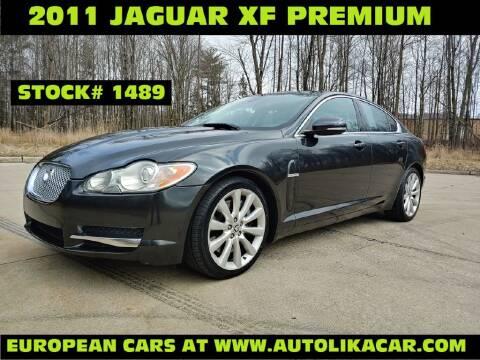 2011 Jaguar XF Premium for sale at Autolika Cars LLC in North Royalton OH