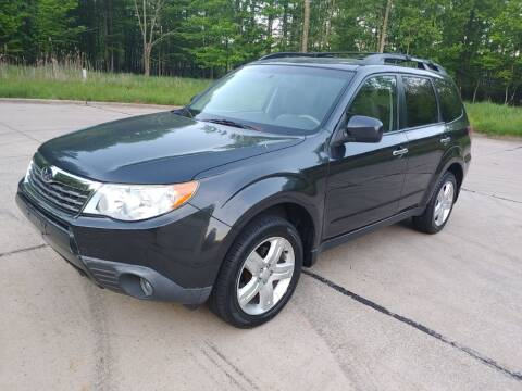 2009 Subaru Forester for sale at Autolika Cars LLC in North Royalton OH