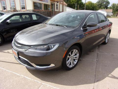 2015 Chrysler 200 for sale in Clinton, IA
