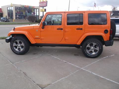 2012 Jeep Wrangler Unlimited for sale in Clinton, IA