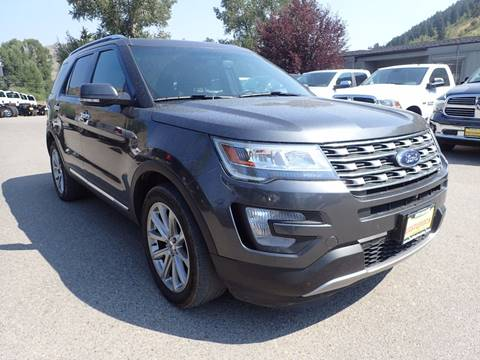 2016 Ford Explorer for sale in Jackson, WY
