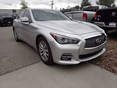 2014 Infiniti Q50 for sale in Jackson, WY