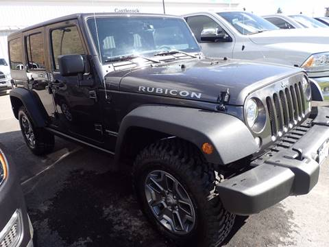 2017 Jeep Wrangler Unlimited for sale in Jackson, WY