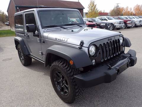 2017 Jeep Wrangler for sale in Jackson, WY